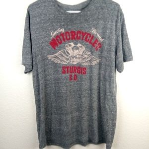 "Men's (L) Lucky Brand ""Sturgis"" T-Shirt"